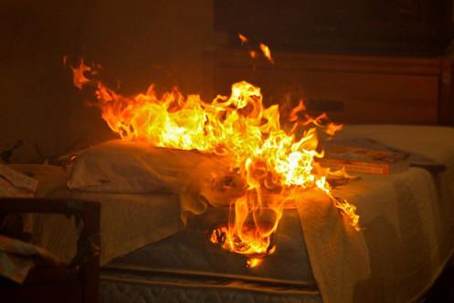 burningbed